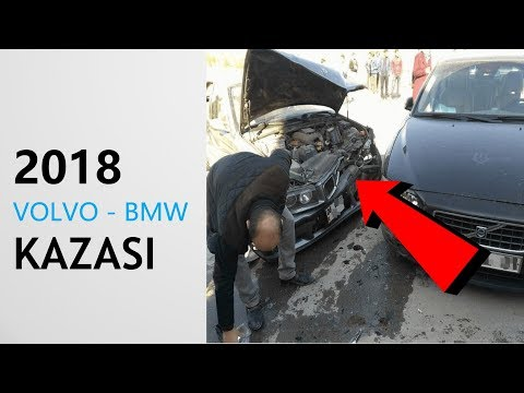 Volvo İle BMV Kazası Gene Volvo Reis Kavga Çıkardı!!!