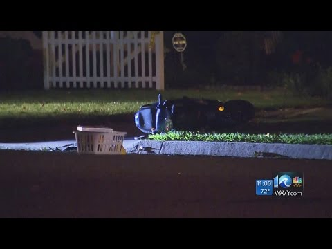 Man injured after suspect on moped shoots at group of people in Chesapeake