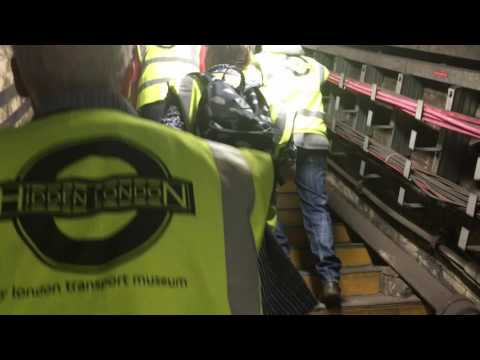 Tour Of Euston Underground's Disused tunnels