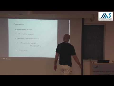Balazs Szentes - Dynamic Contracts with Evolving Types, Part I