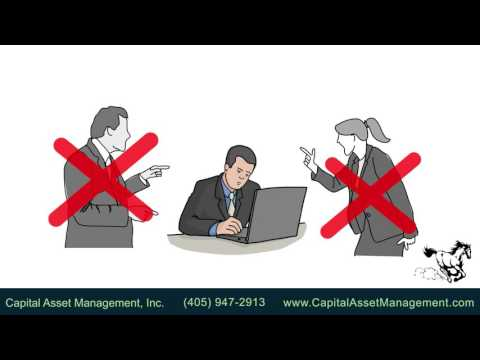 """What does it mean when Capital Asset Management, Inc  says they are """"independent advisors""""?"""