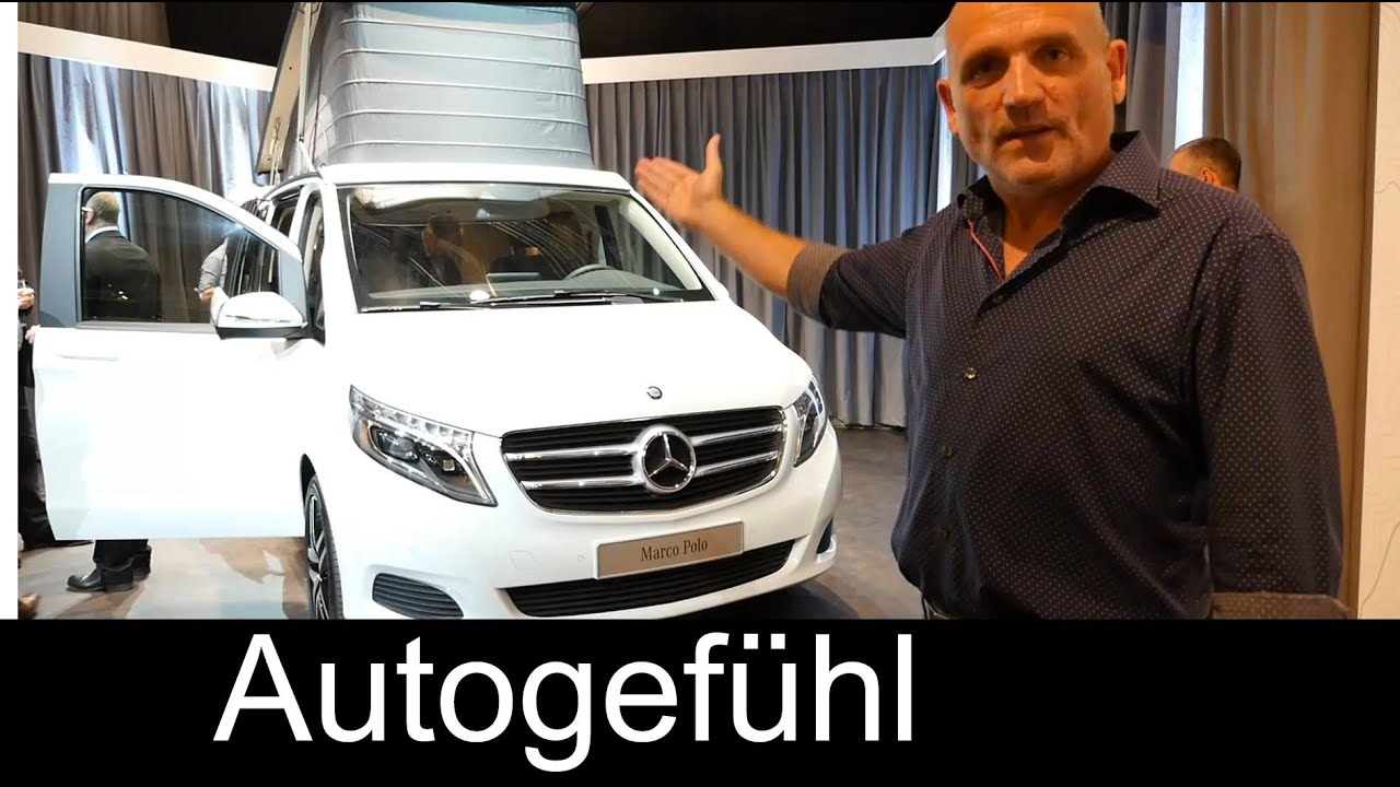 All New 2015 Mercedes Marco Polo Activity V Class Camper