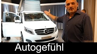 All-new 2015 Mercedes Marco Polo (Activity) V-Class camper static review - Autogefühl