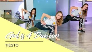Tiësto, Mabel - God is a Dancer - Booty & Core Body Workout Video - Fitness