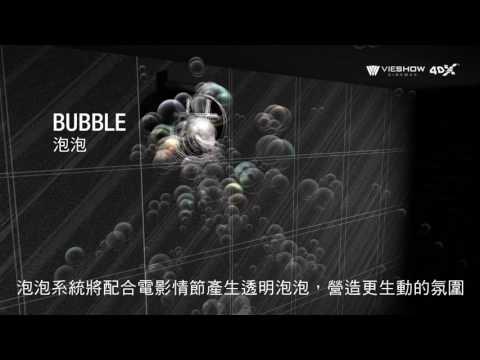 4DX.影廳特色介紹-動態座椅、影廳環境特效