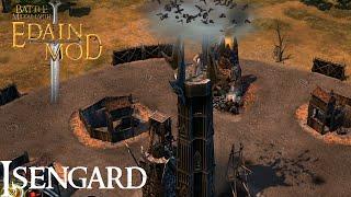 Edain Mod 4.0 Isengard Gameplay - BFME2: RotWK