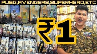 Cheapest keychain & accessories | Pubg | Avengers | Etc | Sadar Bazar | Delhi