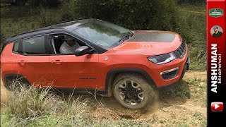 Jeep Compass Trailhawk's Traction Control in action offroad- Short Clip