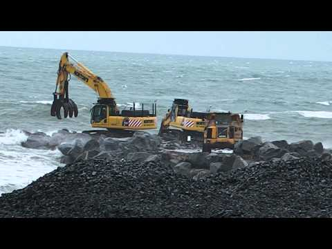 Borth sea Defences June 2011 part 2