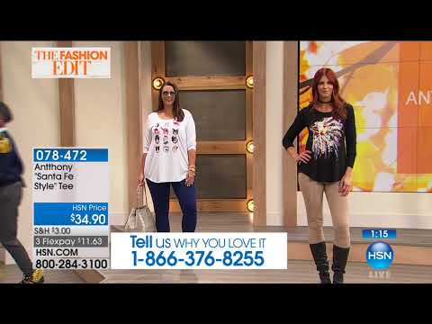 HSN | Antthony Design Original Fashions 09.30.2017 - 09 AM