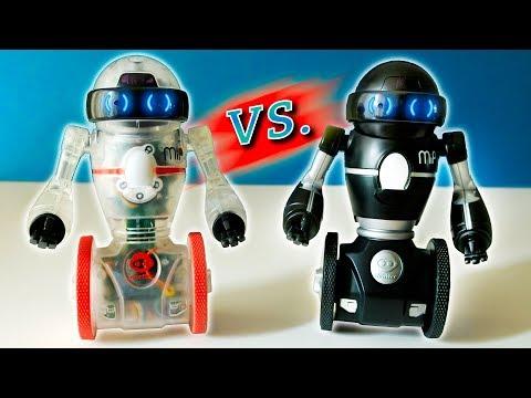Mip vs Coder Mip comparison - PLUS epic ROBOT BATTLE