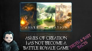 Ashes 101 - Is it true Ashes is a BR Game now?  [Ashes of Creation]