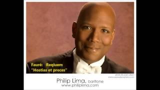 Philip Lima, baritone sing FAURE