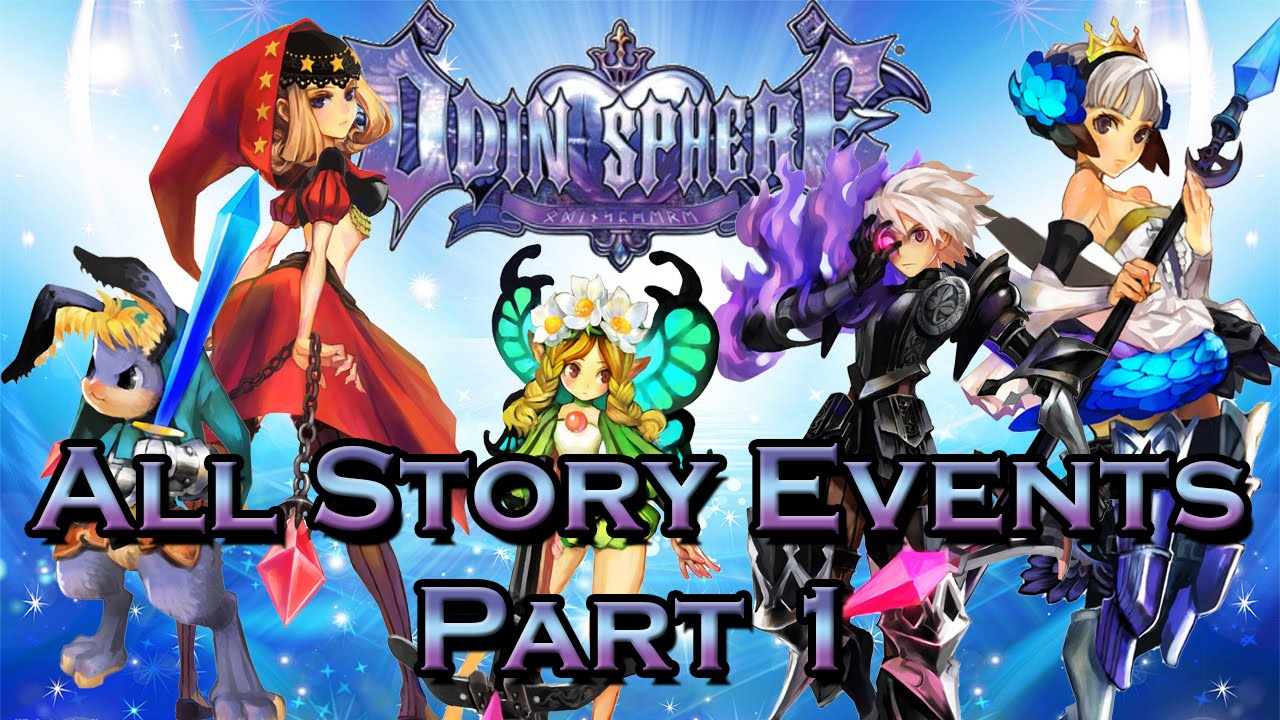 Odin Sphere Leifthrasir - All Events Chronological Order [Part 1][Japanese Voice][English Sub]