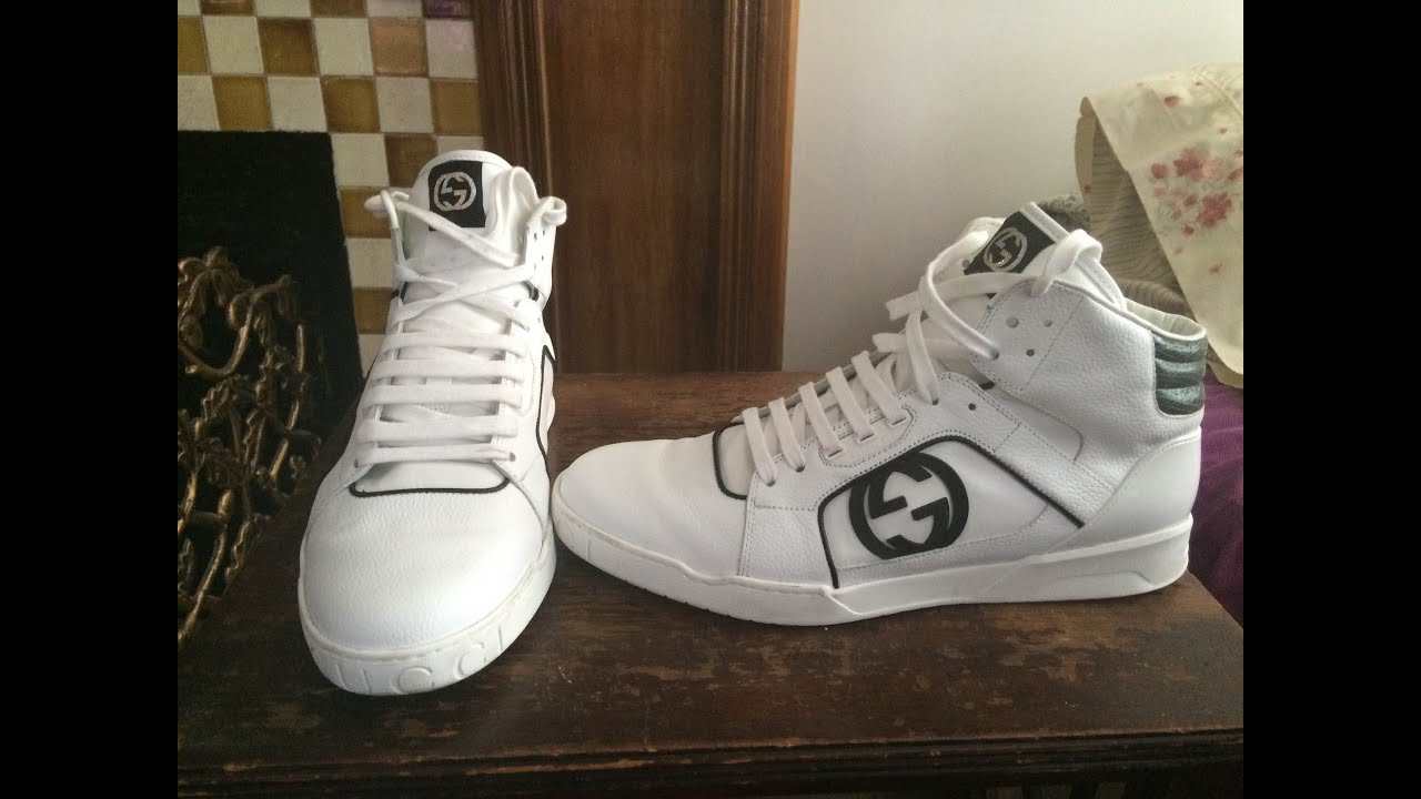 Gucci Rebound Sneakers Review - YouTube