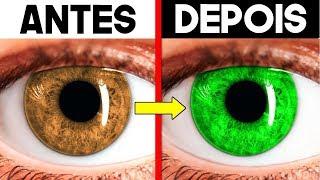 Este truque vai mudar a cor dos seus olhos... (REALMENTE FUNCIONA)