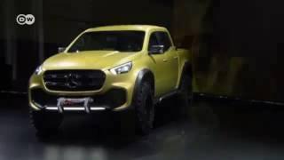 سيارة مرسيدس Concept X-CLASS   عالم السرعة