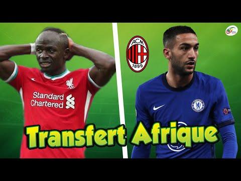 Sadio Mané vers la sortie...Ziyech à deux pas de l'AC Milan. Transferts Afrique