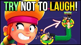 You LAUGH You LOSE - BRAWL STARS Funny Moments #3!