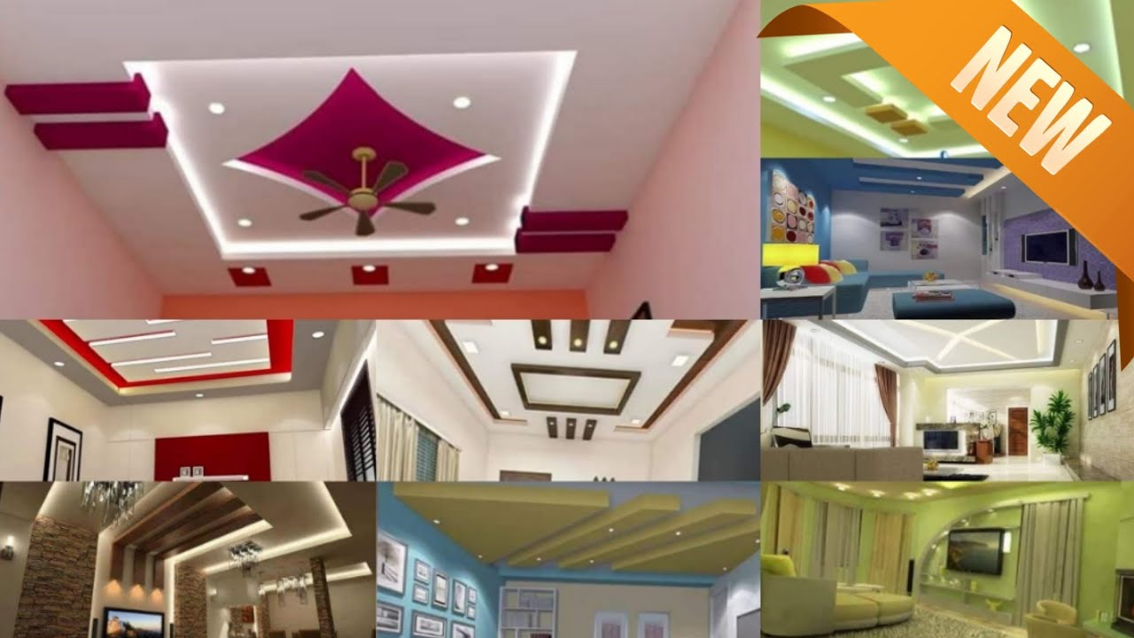 Latest 60 False Ceiling Designs 2020 Ceiling Design Pictures Living And Bedroom Ceiling Youtube