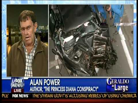Alan Power discusses The Princess Diana Conspiracy - Geraldo at Large