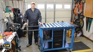 T2W Garage: Custom Welding Table Build (Short Version)
