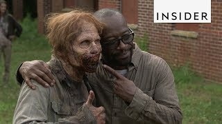 Video What It's Like To Bring 'The Walking Dead' Characters To Life download MP3, 3GP, MP4, WEBM, AVI, FLV Agustus 2017