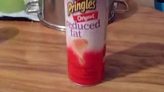 Pringles Original Reduced Fat Potato Crisps Review Video.