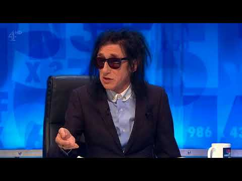 "Dr John Cooper Clarke Poetry on ""8 out of 10 cats does countdown"" 
