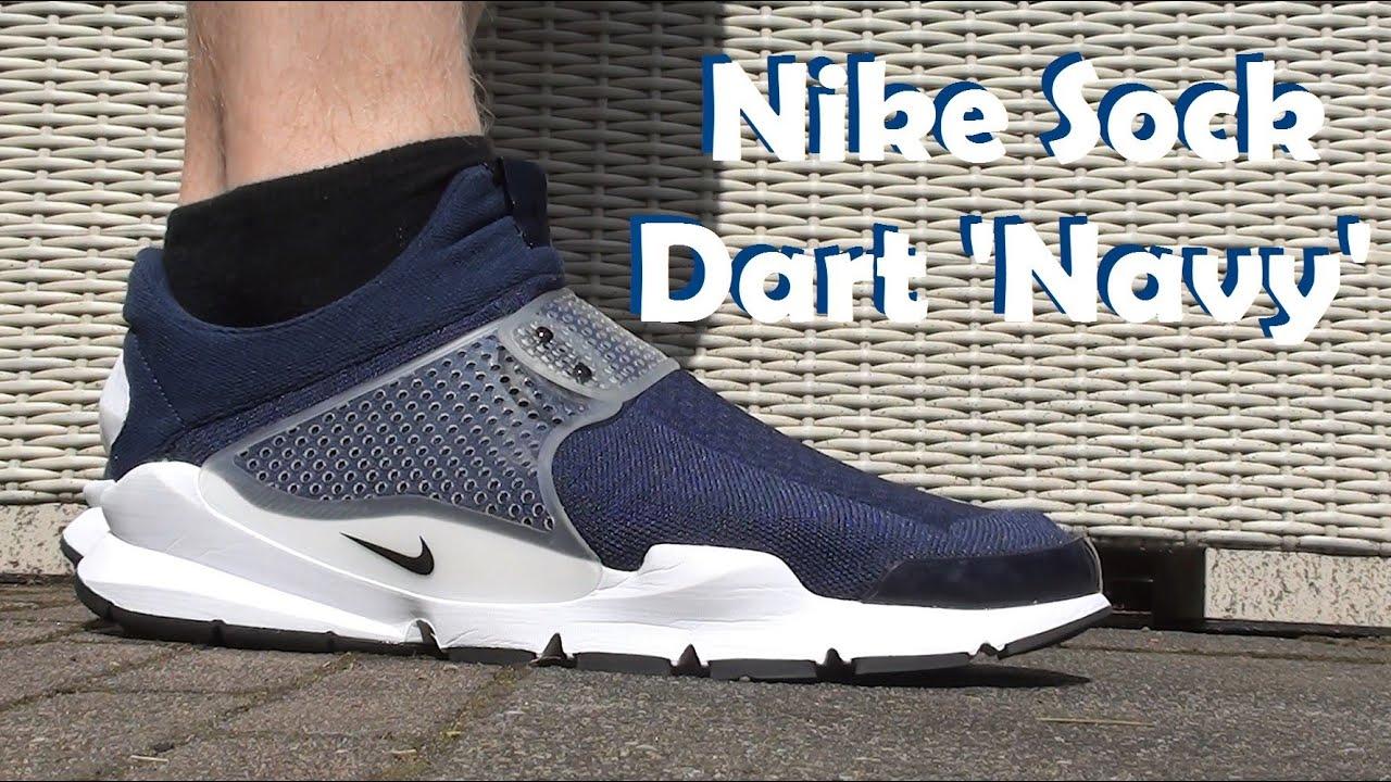 the best attitude b967e 078ed On-Feet Look: Nike Sock Dart 'Midnight Navy'!