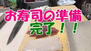 ペンギンのにぎり寿司を作って ママに食べてもらうと事件が発生しました。