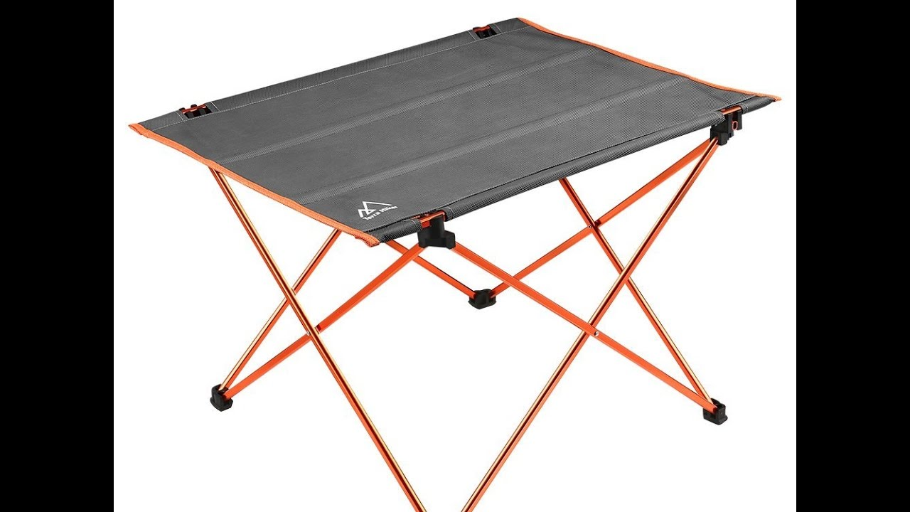 Awesome terra hiker table pliante camping randonne vendeur for Lifetime table pliante
