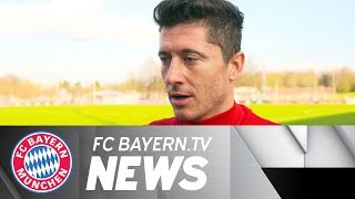 FC Bayern prior to top match v Dortmund