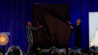 Obama Portrait ft  Imam