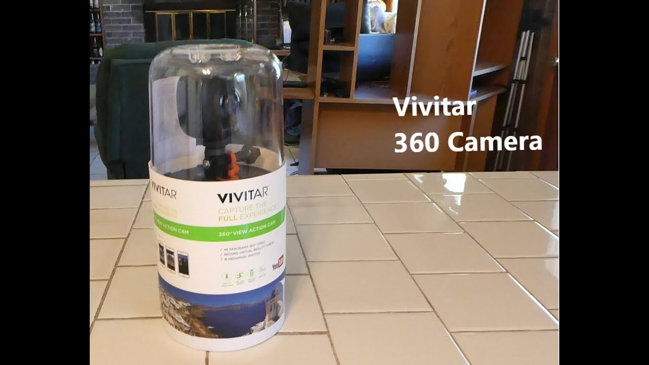 Uboxing And Review Of The Vivitar 360 Action Camera : LightTube