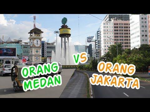 Orang MEDAN VS JAKARTA di Jalanan - Motovlog