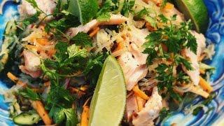 PASCAL W DOMU! Sałatka tajska z grillowanym łososiem | Sprawdź odc. 13