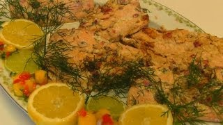 Betty's Dill-marinated Pan-seared Salmon Fillets
