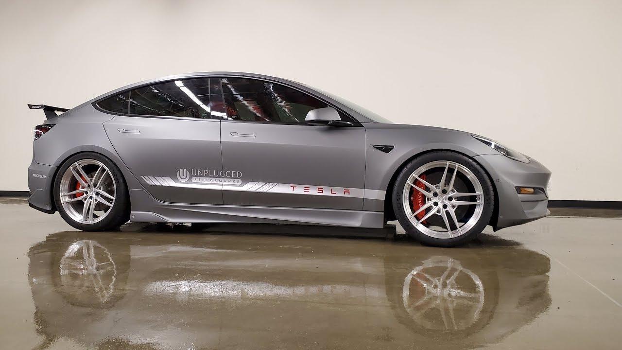 Tesla Model 3 Performance; Ascension R Reveal - YouTube