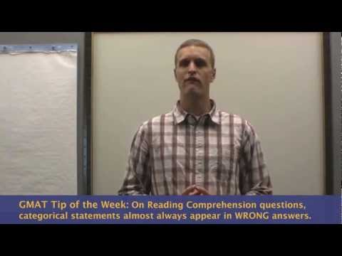 GMAT Reading Comprehension Tips - Detect WRONG Answer Choices