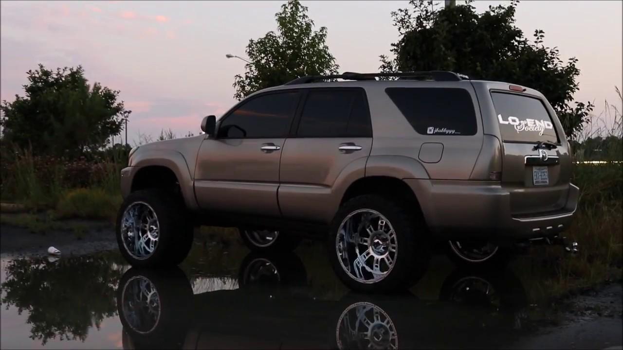 2017 Toyota 4Runner >> 4RUNNER ON 22x14'S - YouTube