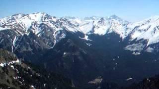 Kominiarski Wierch - panorama ze szczytu