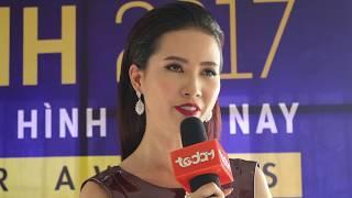 Phan Thị Mơ đẹp rạng ngời tại họp báo Ngôi sao xanh 2017