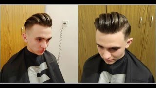 Mariano Di Vaio: Haircut Pompadour Modern | Long Slick Back Men's Revelation of 2018 Hairstyle