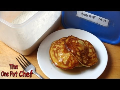 Quick Tips: Home Made Instant Pancake Mix | One Pot Chef
