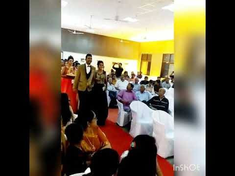 Engagement entry of couple..