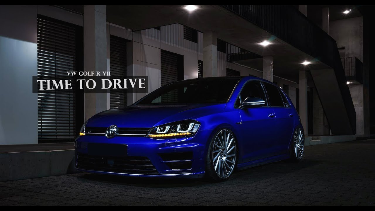 gerry 39 s vw golf 7 r tuning time to drive sound action. Black Bedroom Furniture Sets. Home Design Ideas