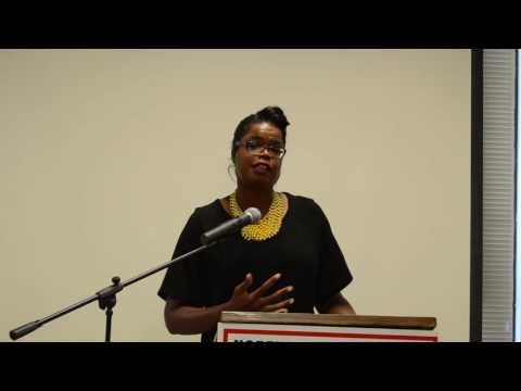 Kim Foxx Cook County Democratic State's Attorney Candidate speech