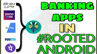 | HOW TO USE BANKING APPS ON ROOTED PHONE | PAYMENT APPS ROOT | MAGISK TRICK | 100% WORKING  | ₹OOT