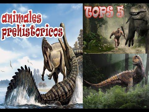 Tos 5 Animales Prehistóricos Extinguidos más Aterradores #1
